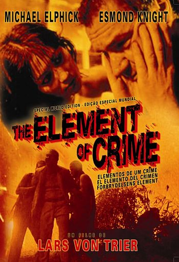 POSTER: O Elemento do Crime