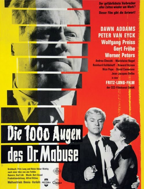 POSTER: Os Mil Olhos do Dr. Mabuse